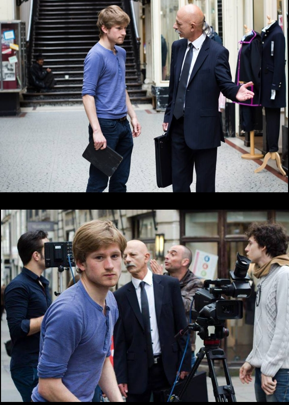"Pier Mayer-Dantec - Tournage du film ""Photoshop"""